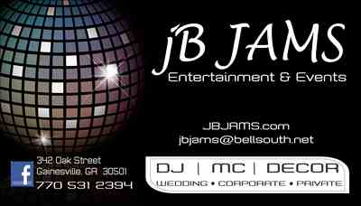 jB JAMS Entertainment & Events